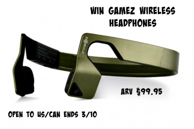 Gamez Headphones Giveaway