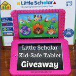 Little Scholar Tablet Giveaway {US | Ends 02/29}