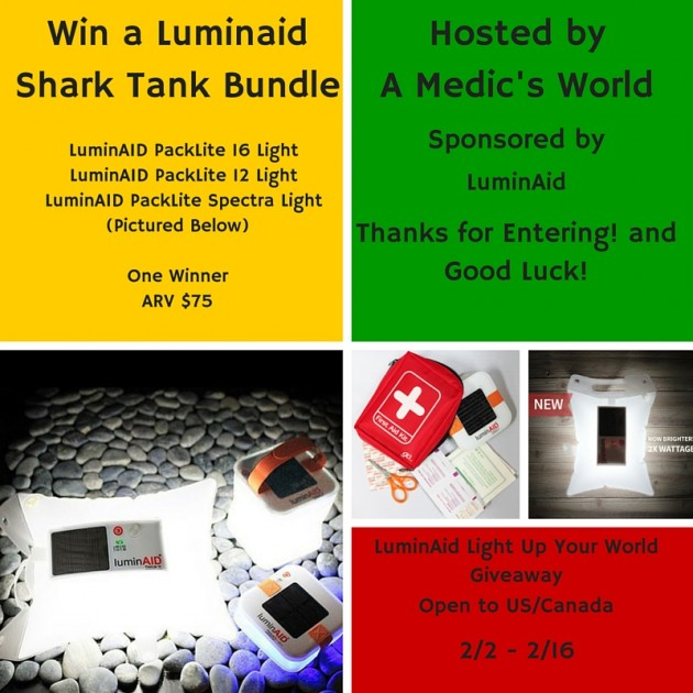 LuminAid Light Up Your World Giveaway