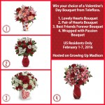 Valentine's Day With Teleflora #WhatIsLove Giveaway {US | Ends 02/07}