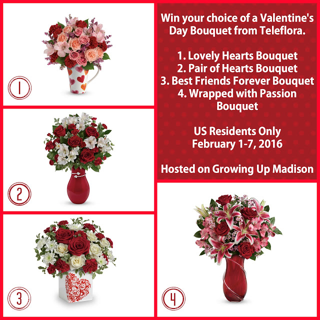 Teleflora Valentine Day Giveaway