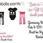 $50 Doodle Pants Giveaway {US   Ends 02/23}