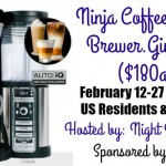 Ninja Coffee Bar Giveaway {US | Ends 02/26}