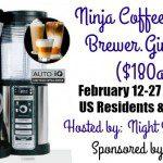 Ninja Coffee Bar Giveaway {US | Ends 02/26}