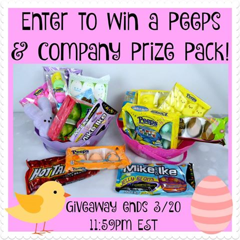 Peeps & Company Prize Pack Giveaway {US | Ends 03/20}