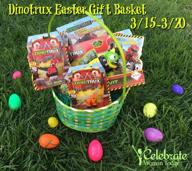 Dinotrux EASTER netflix gift basket