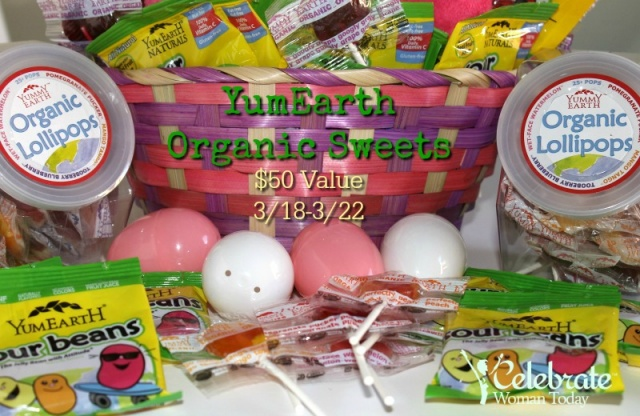 YUMEARTH Easter Candy Giveaway {US | Ends 03/22}