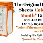 The Original PeachSkin Sheets Color of the Month Giveaway {US | Ends 04/12}