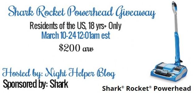 shark rocket powerhead giveaway