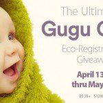 Gugu Guru Eco-Friendly Baby Registry Giveaway {US | Ends 05/04}