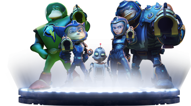 Ratchet and Clank - Galactic Rangers