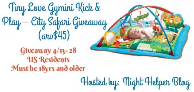 tiny love gymini kick and play giveaway