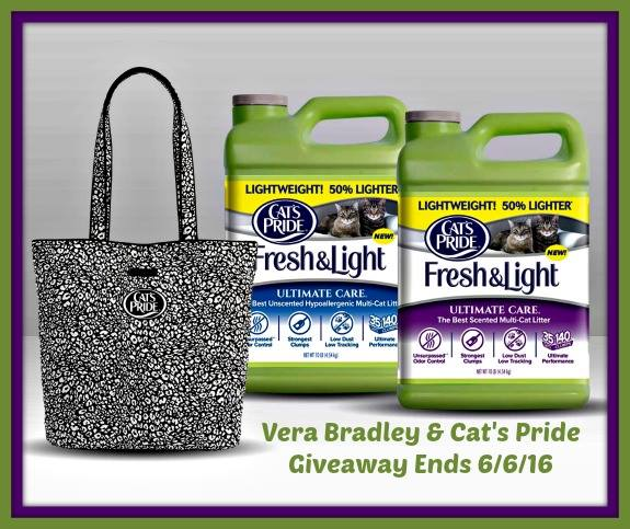 Vera Bradley Camocat Tote Giveaway {US | Ends 06/06}