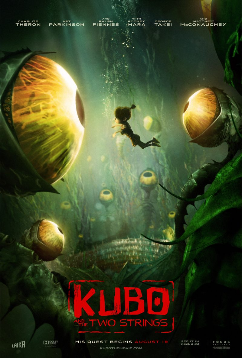 KUBO AND THE TWO STRINGS ~ Trailer #KuboMovie