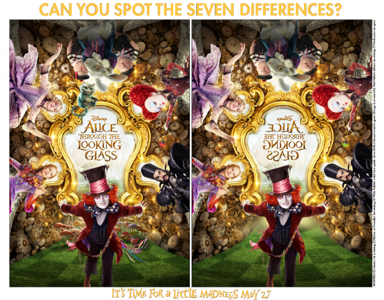 Alice-Through-The-Looking-Glass-Spot-the-Difference