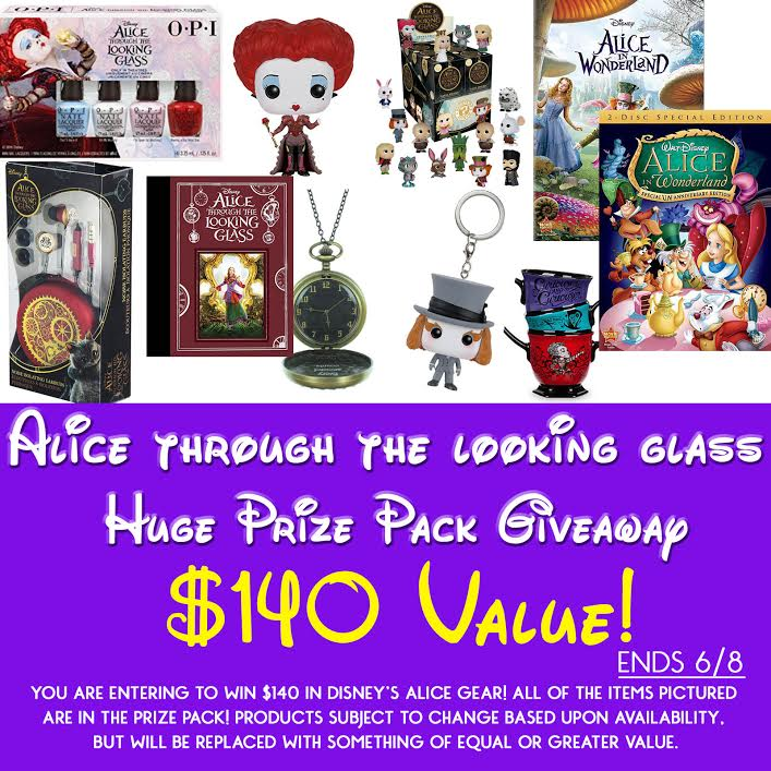 Alice Through the Looking Glass Giveaway