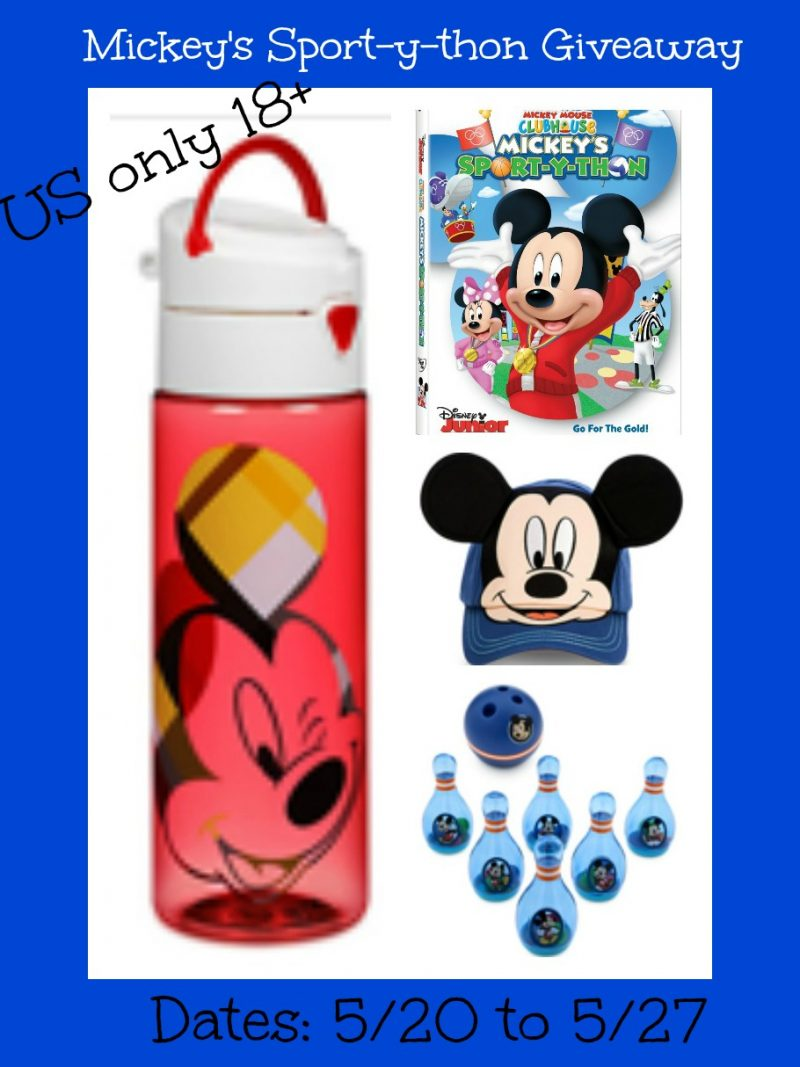Mickey Mouse Clubhouse Mickey's Sport-y-thon Prize Pack Giveaway {US | Ends 06/26}