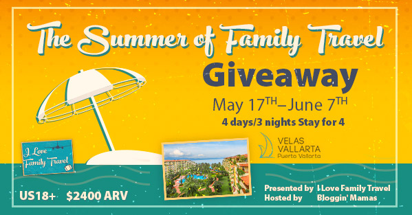 The Summer of Family Travel Giveaway {US | Ends 06/17}