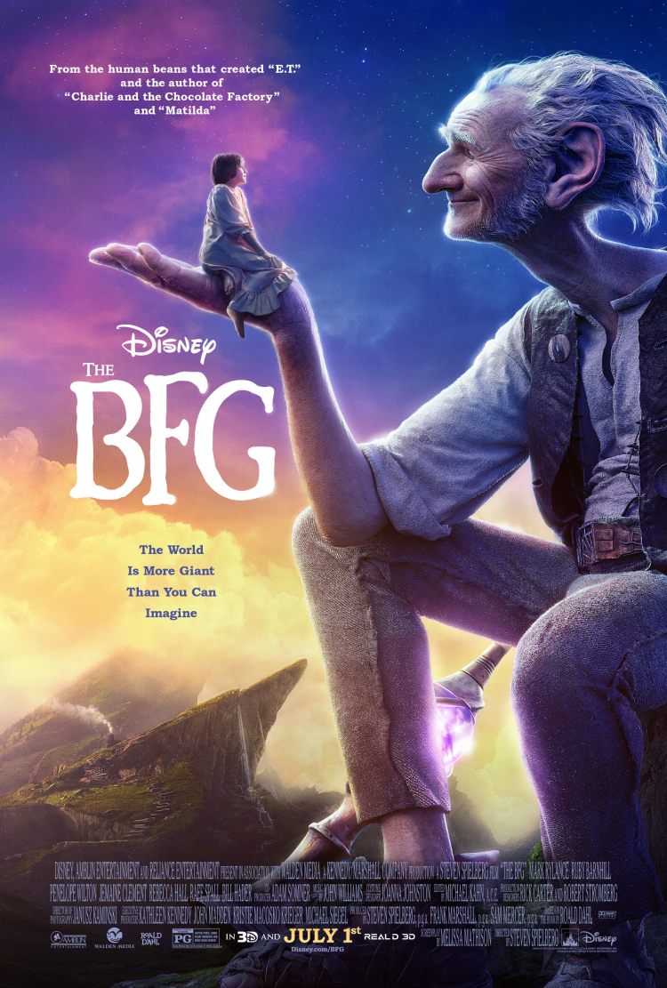 THE BFG ~ New Poster and Trailer!!!  #TheBFG