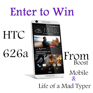 HTC 626a Mobile Phone Giveaway {US | Ends 06/17}