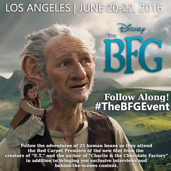 The BFG ~ I'm Heading to LA for this GIANT Event!  #TheBFGEvent #FutureWormEvent