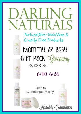 Darling Naturals Mommy & Baby Gift Giveaway {US | Ends 06/26}