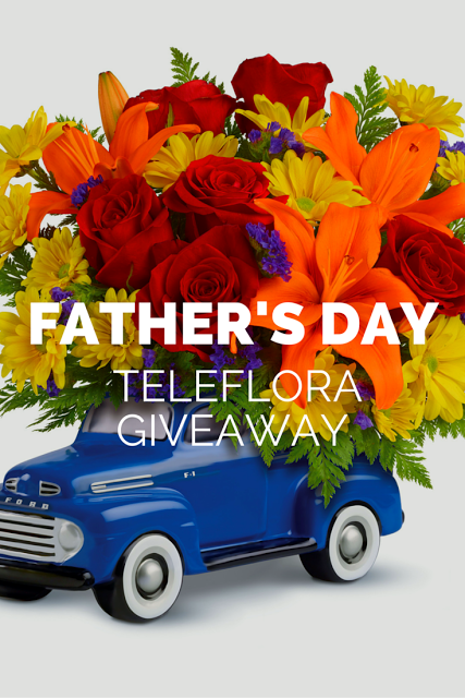 Fathers Day Teleflora Giveaway