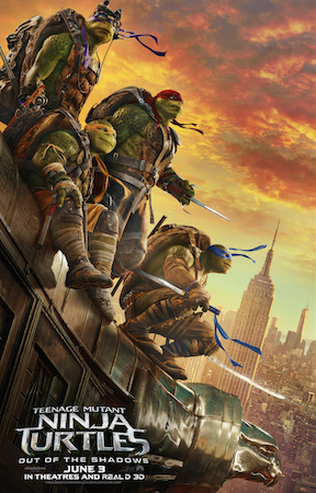 Teenage Mutant Ninja Turtles: Out of the Shadows ~ #TMNT2