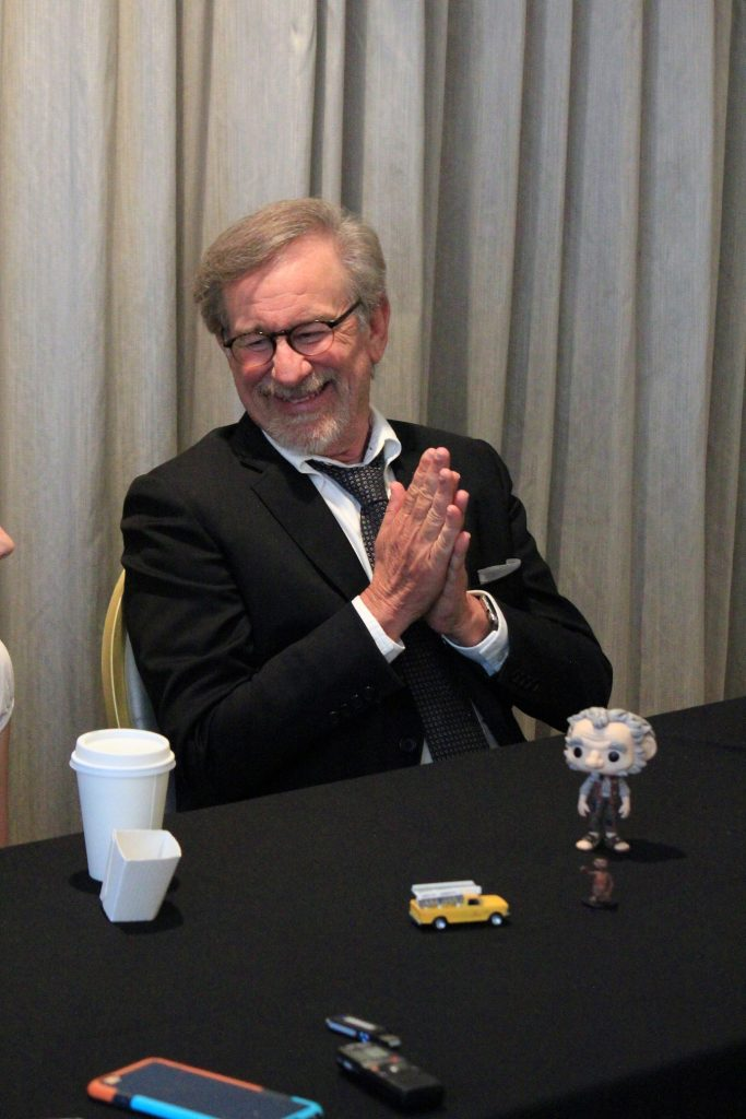 Steven-Spielberg-and-Ruby-Barnhill-2-683x1024