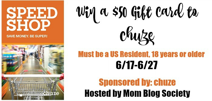 chuze $50 Gift Card Giveaway {US | Ends 06/27}