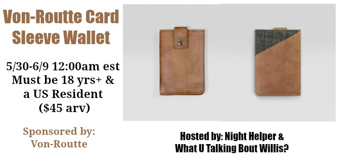 von-routte card wallet sleeve