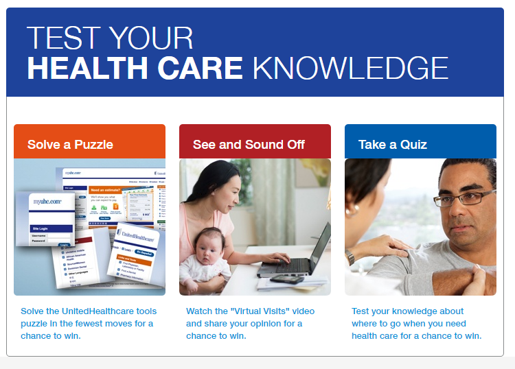 UnitedHealthcare ~ Test Your Health Care Knowledge