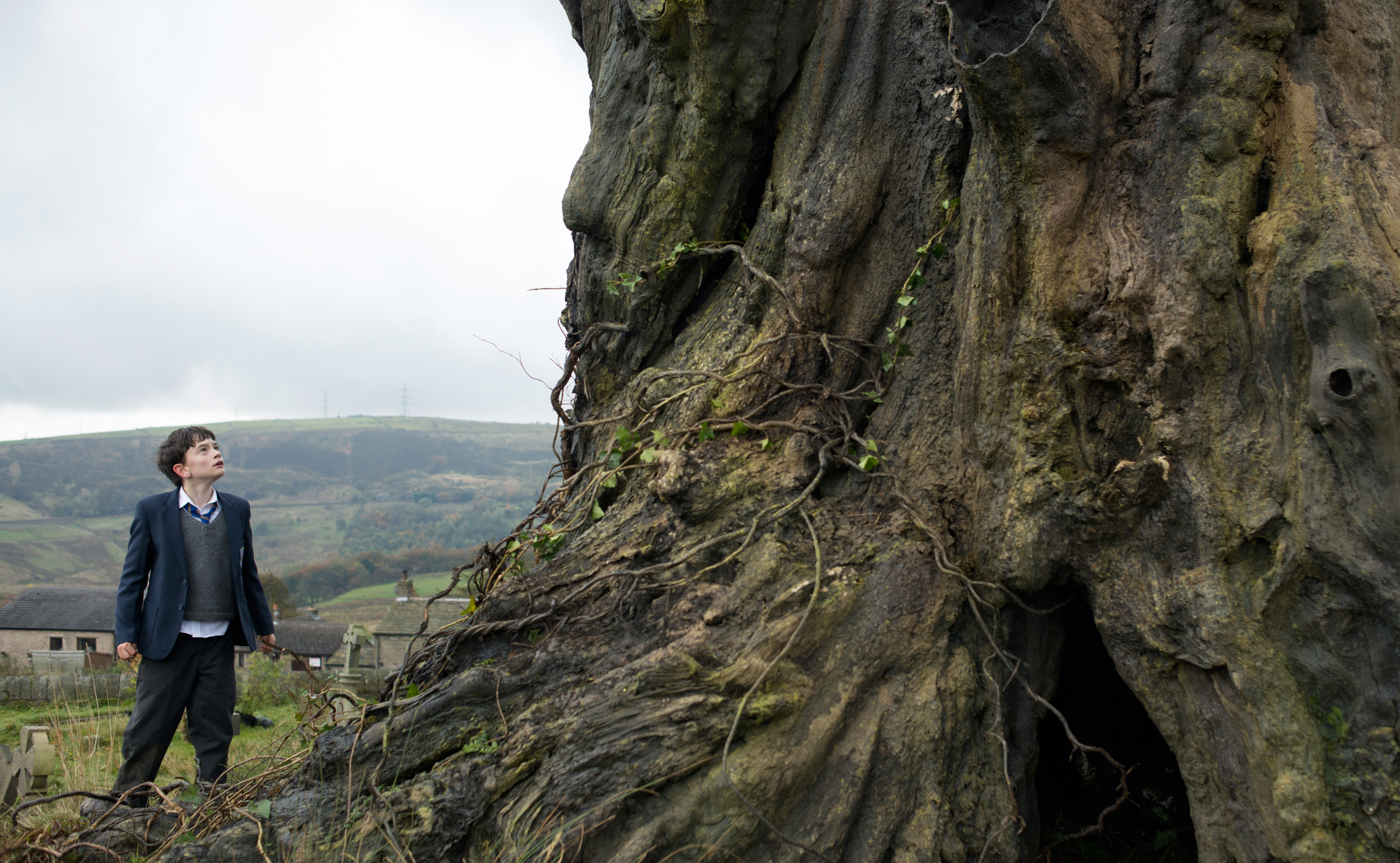 A Monster Calls ~ Movie Trailer  #AMonsterCalls