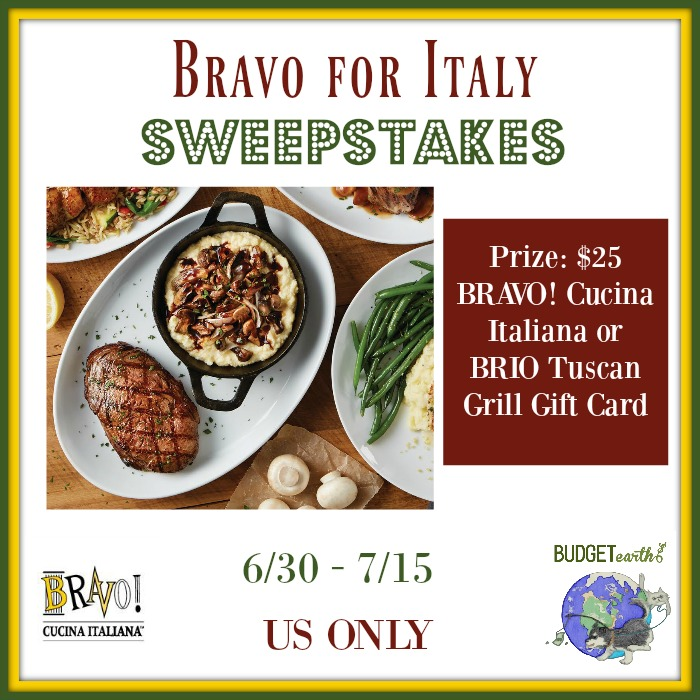 Bravo for Italy Sweepstakes