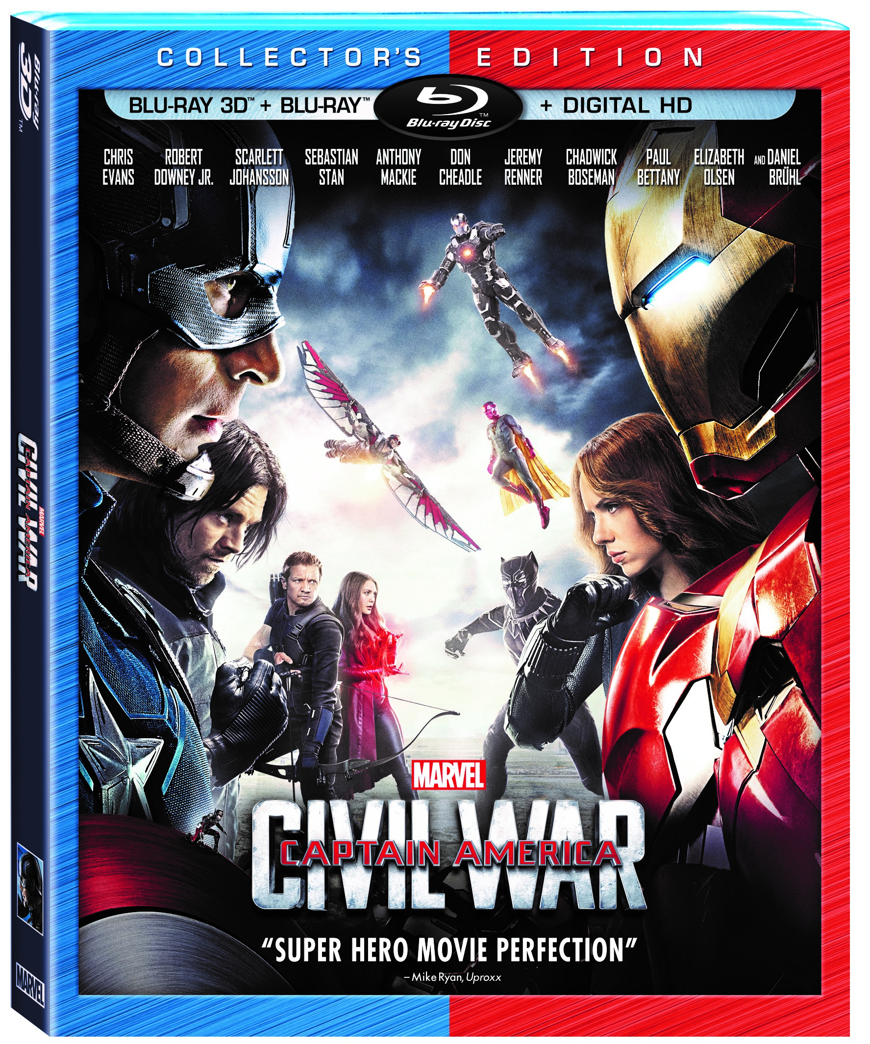 CAPTAIN AMERICA: CIVIL WAR ~ Bonus Features  #CaptainAmerica