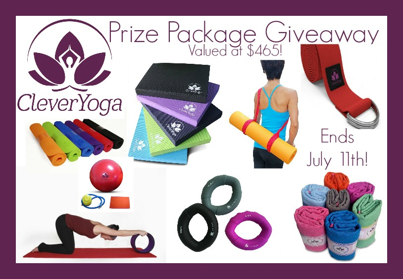 Clever Yoga $465 Prize Pack Giveaway {US | Ends 07/11}