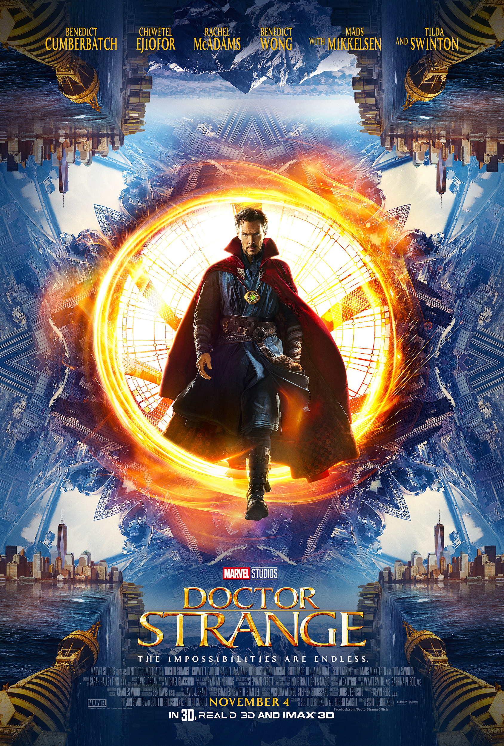 Marvel'S DOCTOR STRANGE ~ New Poster & Trailer  #DoctorStrange