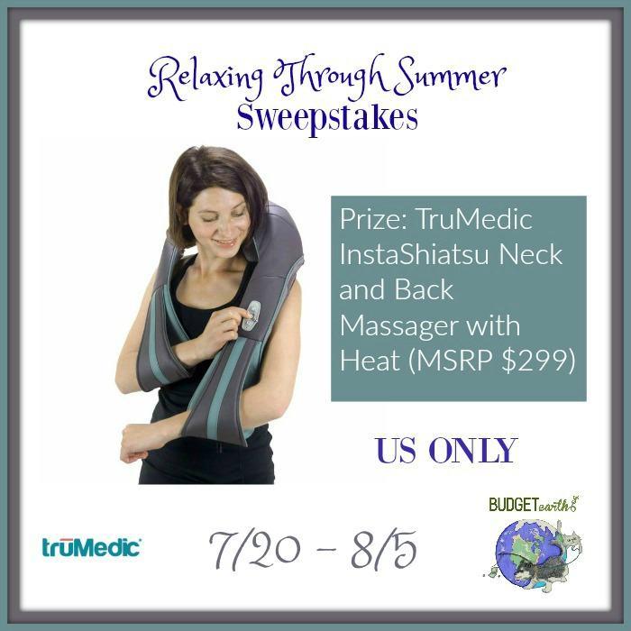 Relaxing Through Summer Sweepstakes {US | Ends 08/05}