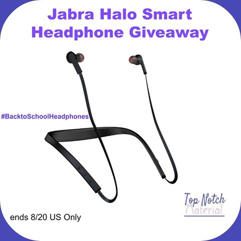 Jabra Halo Smart Headphone Giveaway {US | Ends 08/20}