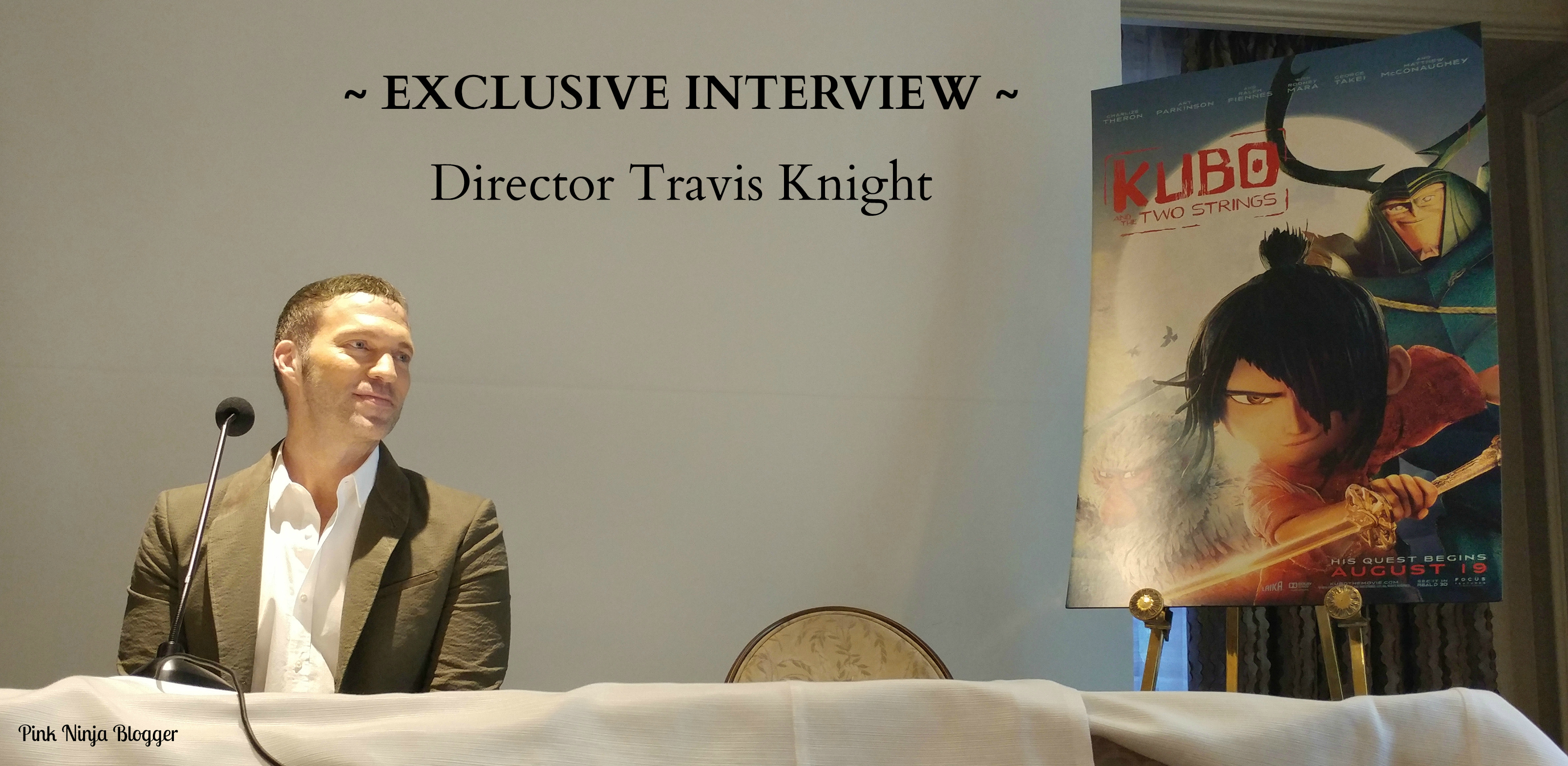 Kubo and the Two Strings ~ EXCLUSIVE with Director Travis Knight  #KuboMovie