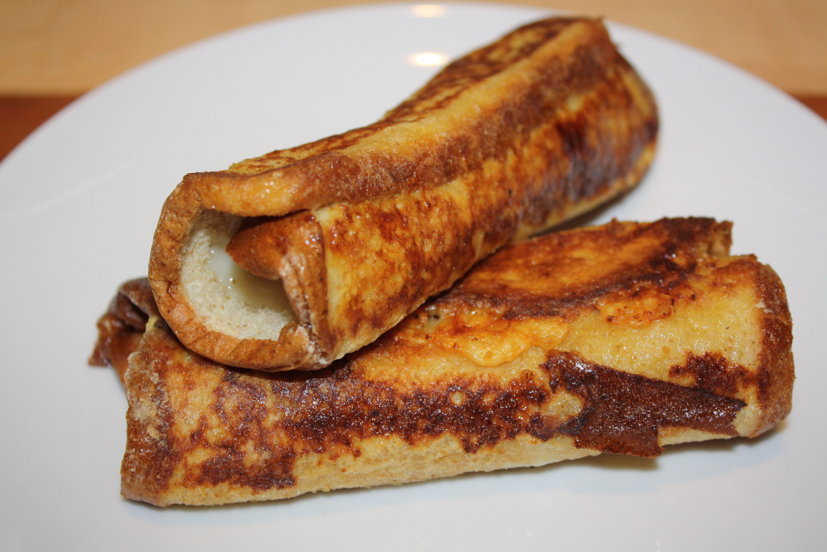 Monte Cristo Roll Ups ~ A Healthy After School Snack