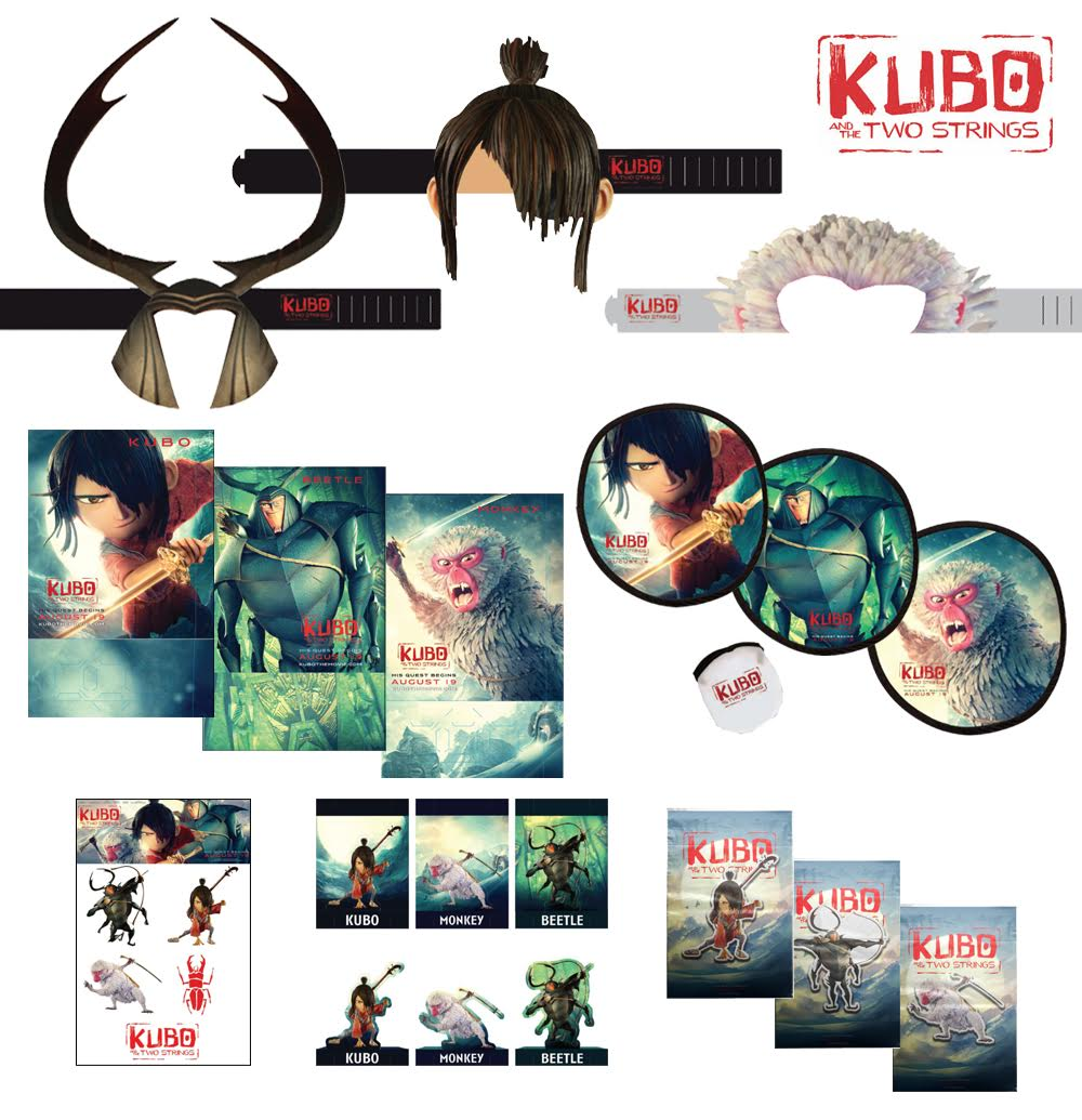 Kubo and the Two Strings Giveaway {2 WINNERS | US | Ends 09/19}