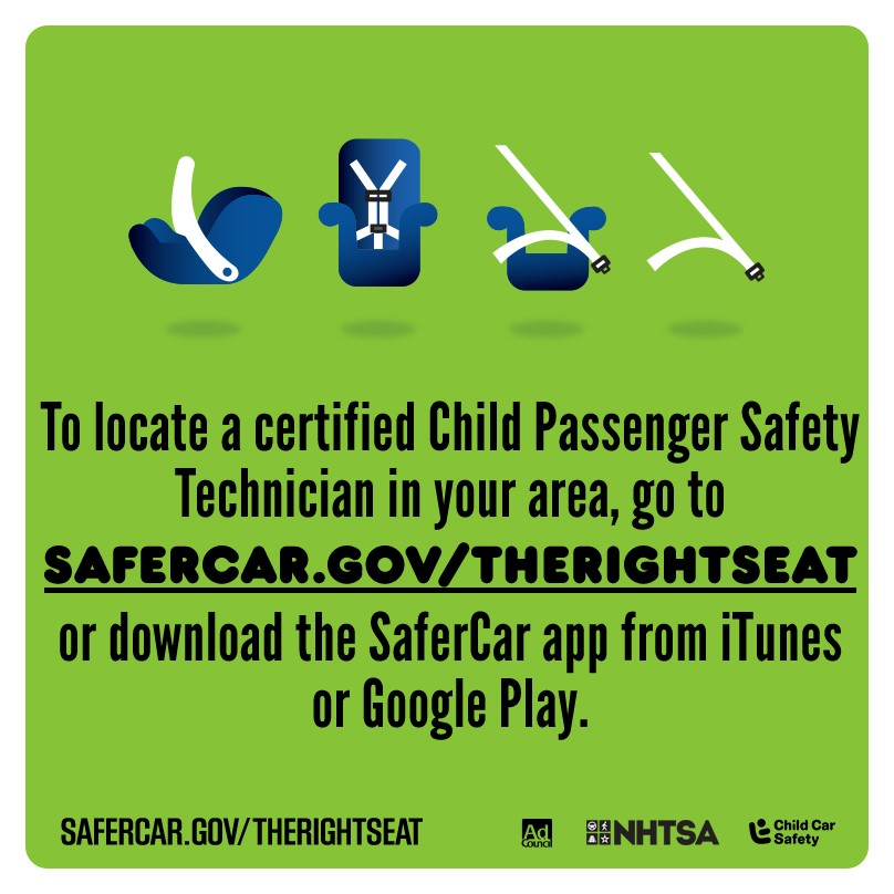 Child Passenger Safety Week  #TheRightSeat