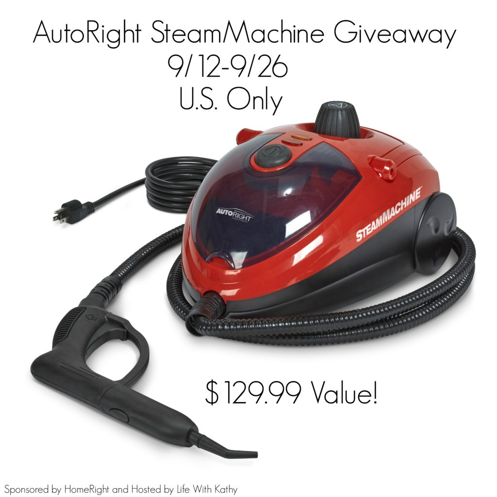 AutoRight SteamMachine Giveaway {US | Ends 09/26}