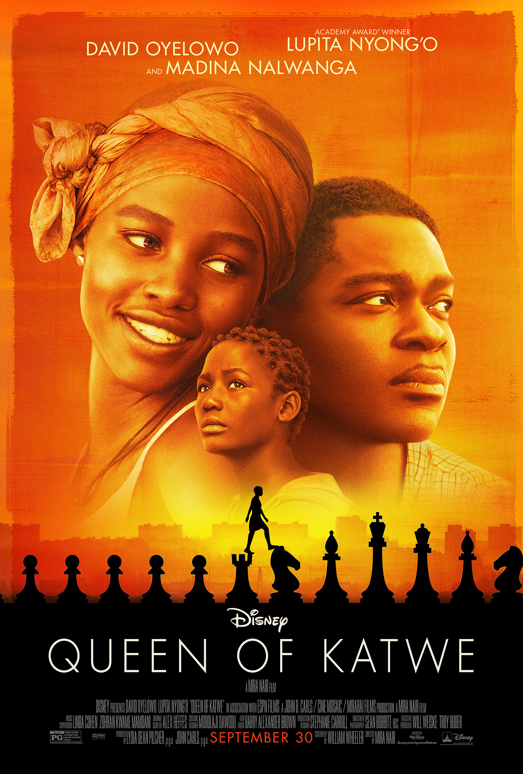 5 Things to Take Away from Queen of Katwe  #QueenofKatwe