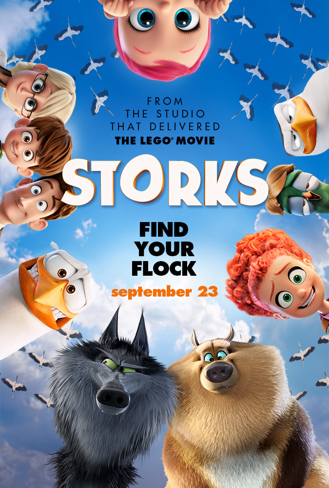 Storks Movie Review ~ In Theaters Now