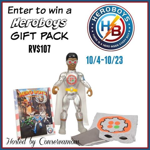 Heroboys Gift Pack Giveaway {US | Ends 10/23}