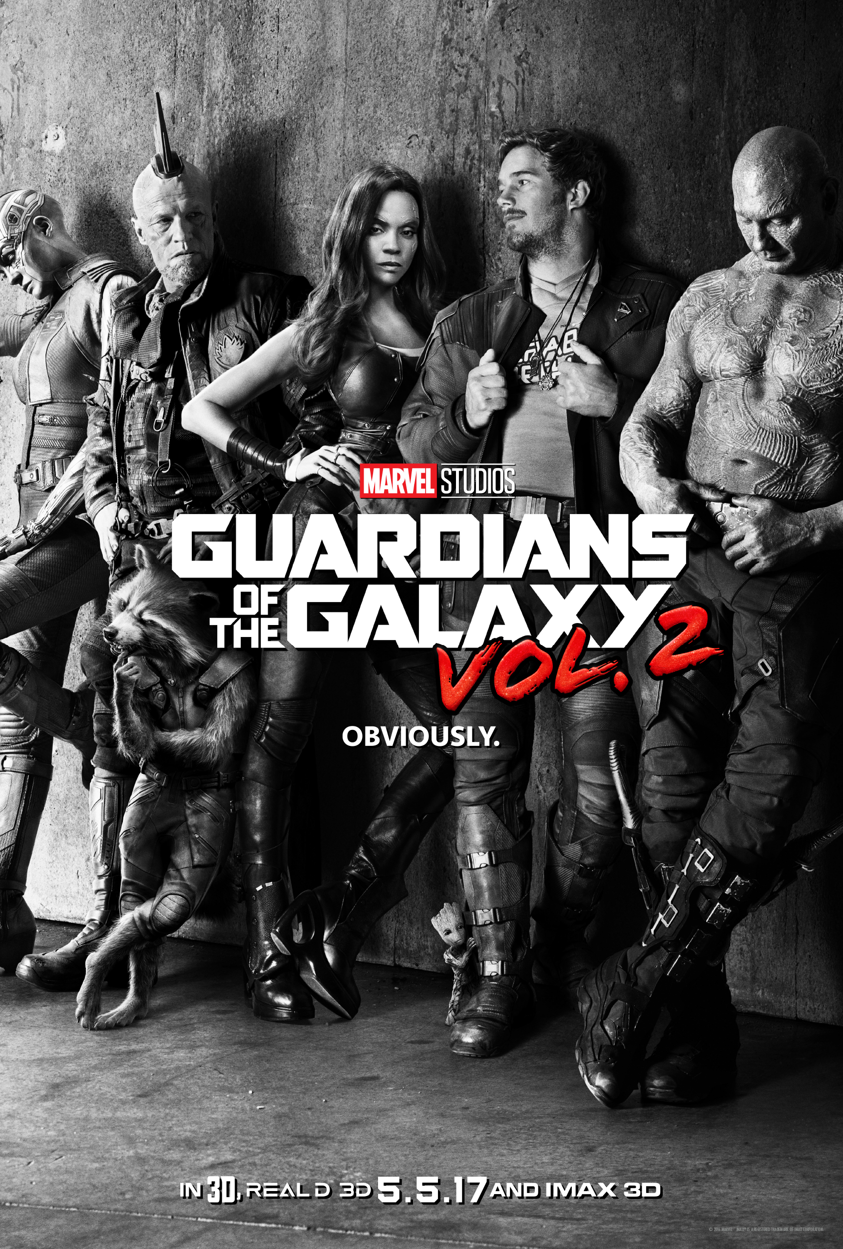 Marvel's GUARDIANS OF THE GALAXY VOL. 2 ~  New Poster & Sneak Peek #GotGVol2