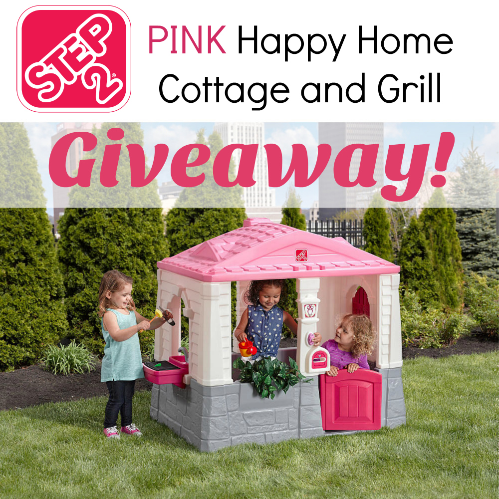 Step2 Happy Home Cottage and Grill in Pink Giveaway {US | Ends 10/19}