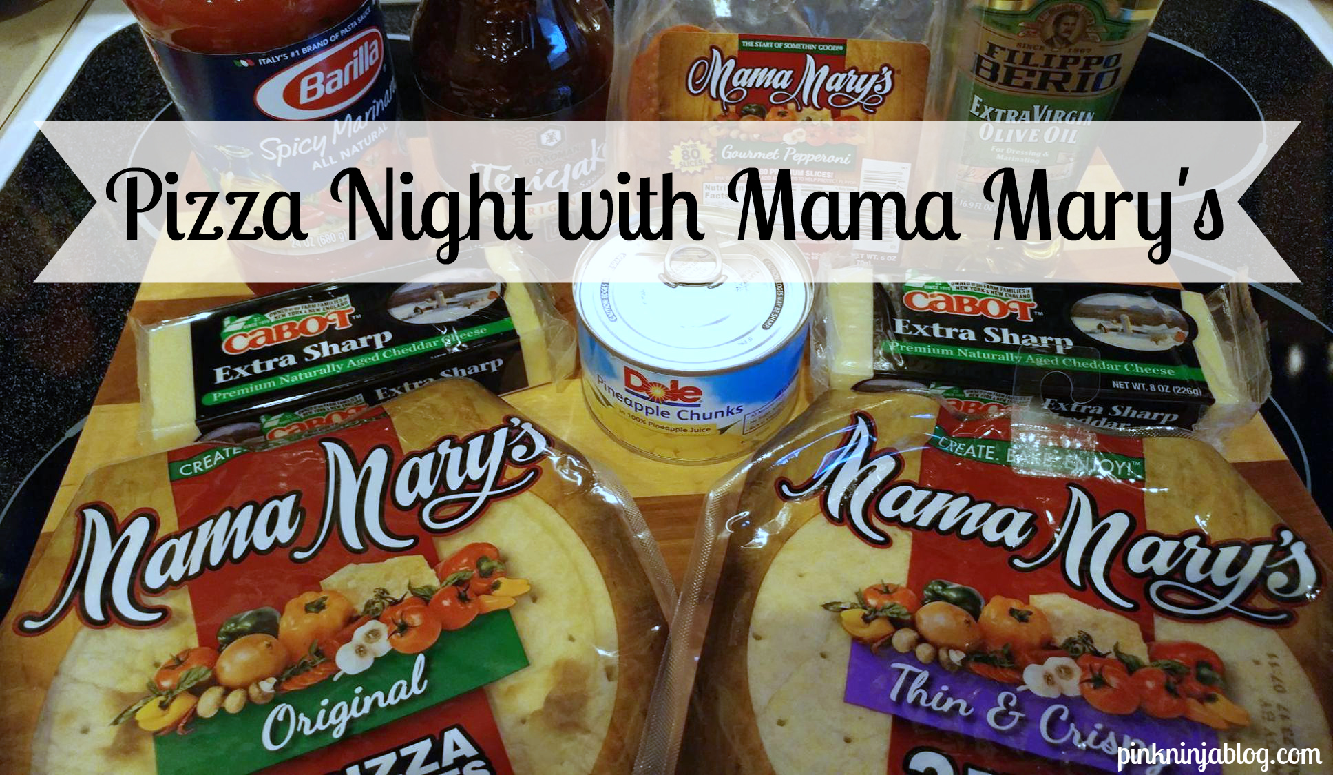 Pizza Night with Mama Mary's
